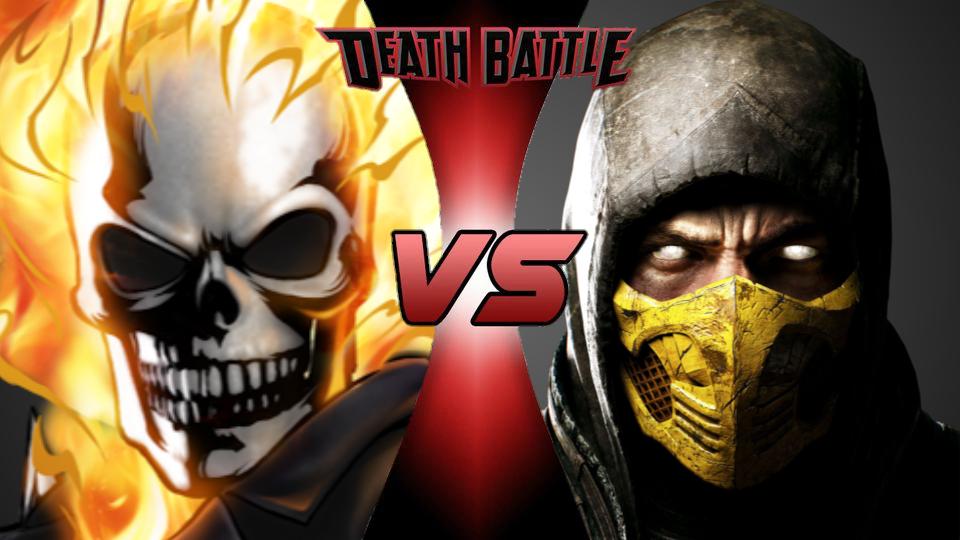 Ghost Rider vs. Scorpion   Death Battle Fanon Wiki ...