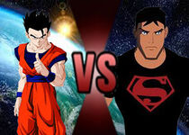 Gohan vs. Superboy