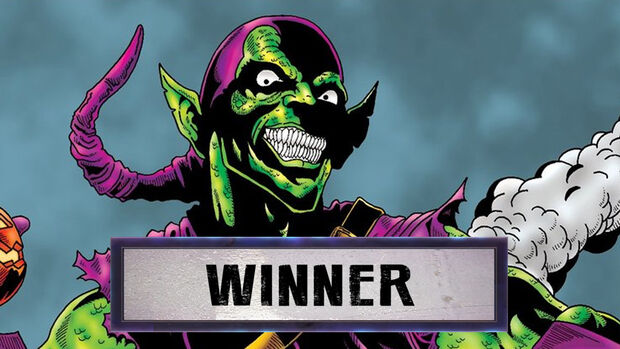 Green Goblin is the winner
