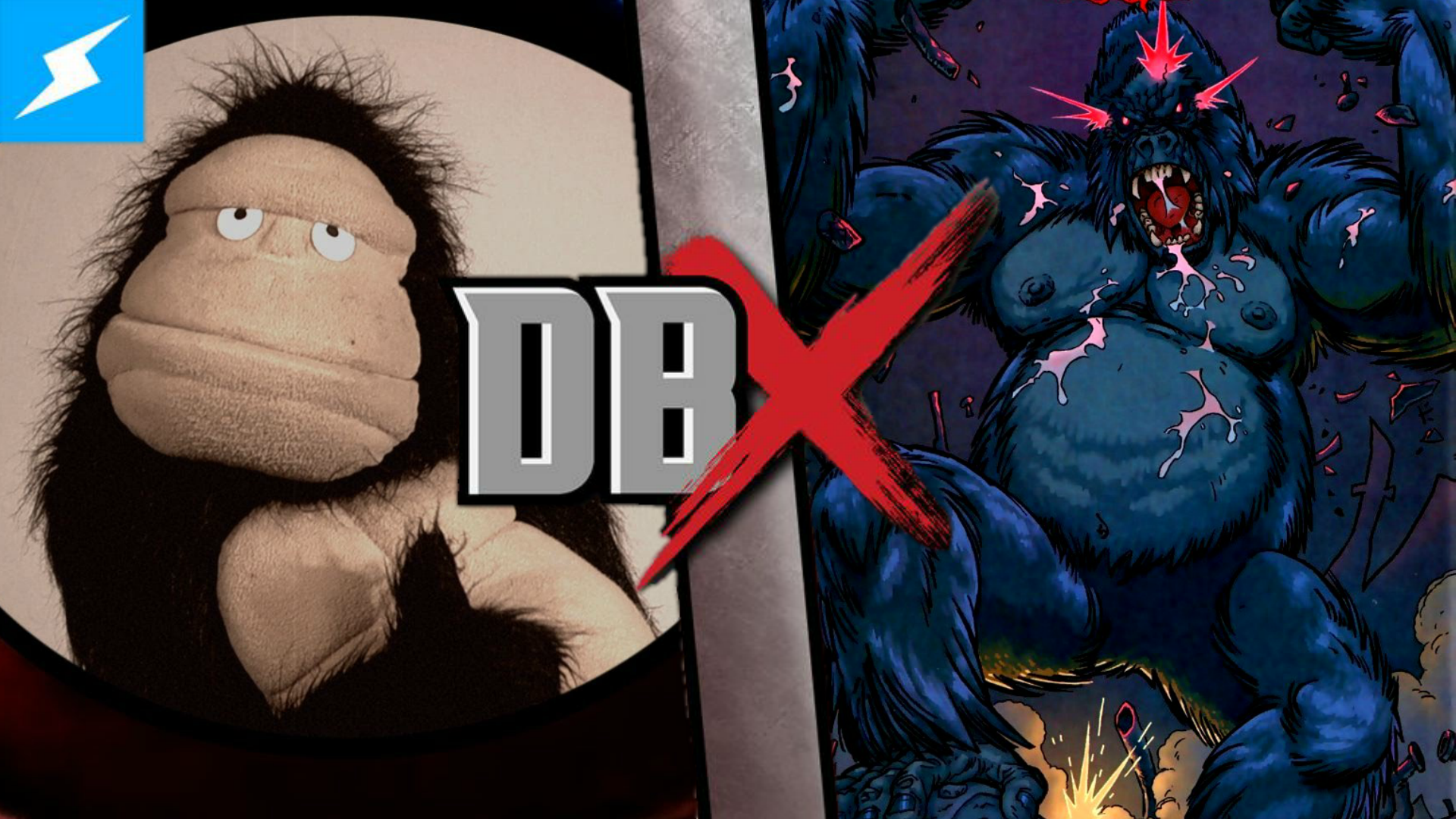 image gorilla glove and boots vs gorilla grodd png death