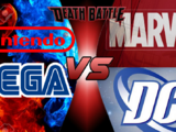 Team Mario & Sonic VS Team DC & Marvel