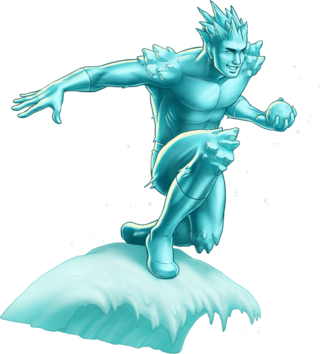 Iceman Portrait Art