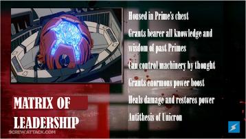 Optimus Prime Analysis 5
