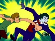 Yes that is shaggy punching joker it happened 30d02f 3406616