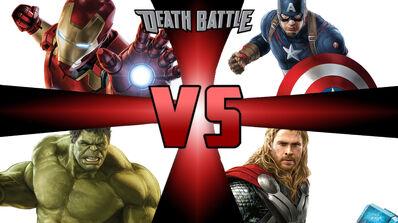 Avengers battle royale