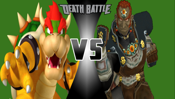 Bowser vs Ganondorf