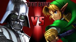 Link vs Darth Vader