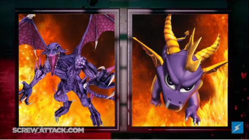 Ridley VS Spyro SET