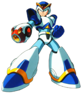 Mega Man X - Mega Man X wearing his First Armor