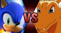 Sonic VS Charizard