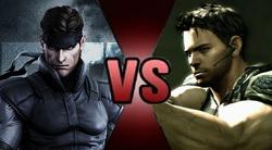 Solid Snake vs Chris Redfield