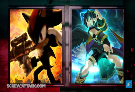 Dark Pit vs. Shadow Near to Start- Puas