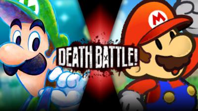 Dreamy Luigi vs Paper Mario