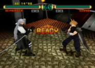 Final Fantasy - Cloud Strife & Sephiroth as seen in Ehrgeiz