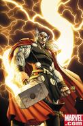 Marvel Comics - Thor channels lightning