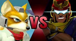 Fox McCloud vs Captain Falcon