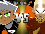 Aang vs. Danny Phantom