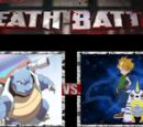 Blue and Blastoise vs. Matt and Gabumon