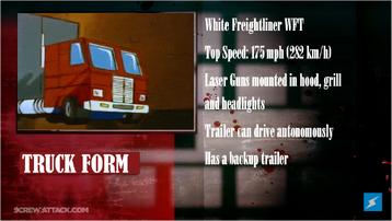 Optimus Prime Analysis 2