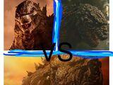 3-way DeathBattle: Monsterverse Godzilla vs Shin Godzilla vs Godzilla Earth