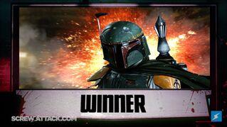 Boba wins yay