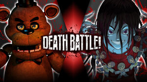 Freddy vs Sachiko Cartoonfan definitive