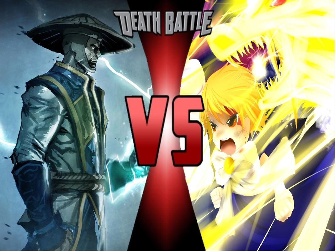 Raiden Vs Zatch Bell Death Battle Fanon Wiki Fandom Powered By Wikia