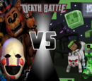 The Minecraft Mobs VS The Animatronics