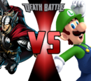 Thor vs Luigi