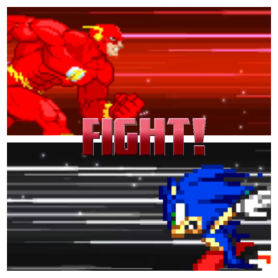 Sonic flash running