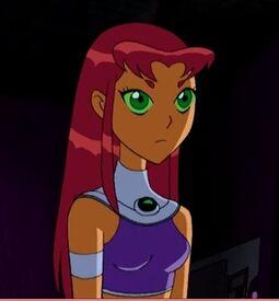 Starfire in Teen Titans
