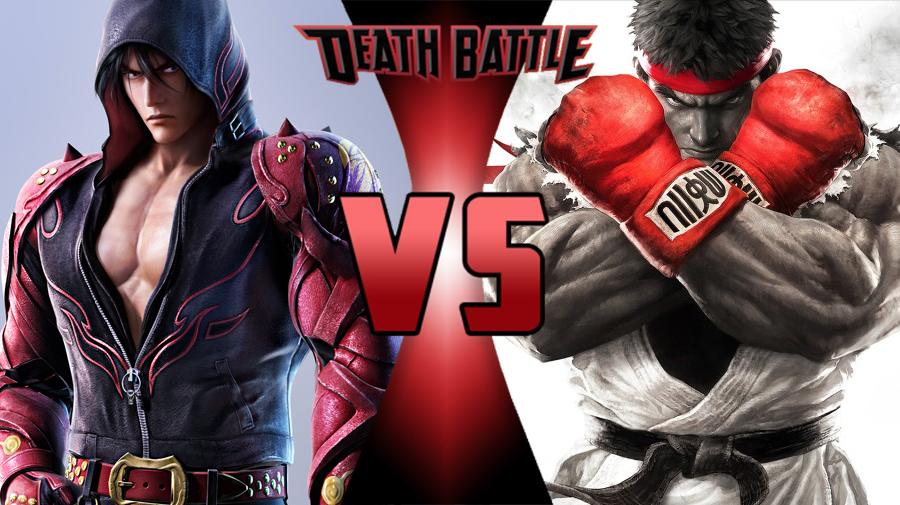 jin kazama vs ryu death battle fanon wiki fandom powered by wikia