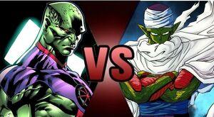 Martian Manhunter vs Piccolo