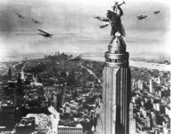 King Kong 1933 Empire State Building Production Pic