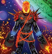 Frank Castle (Earth-TRN666) from Cosmic Ghost Rider Vol 1 1 cover 001