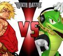 Vector the Crocodile vs Ken Masters