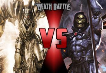 Megatron VS Skeletor