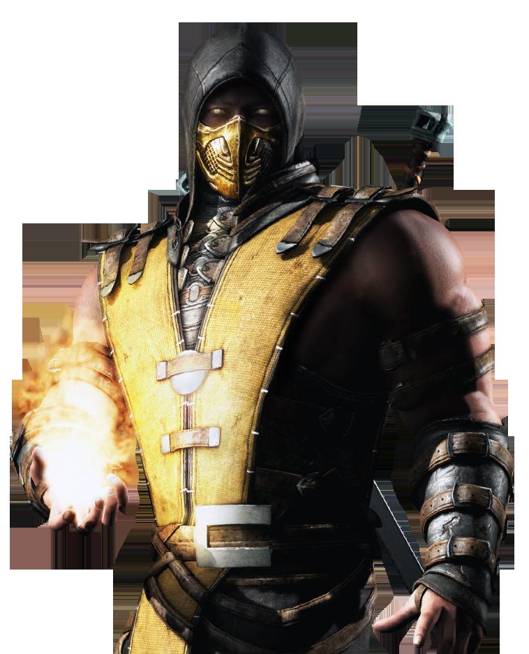 snap image mortal kombat x ios black scorpion renderpng