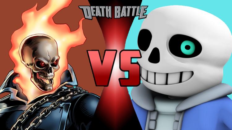 ghost rider vs sans death battle fanon wiki fandom powered by wikia