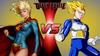 Supergirl VS Vegeta (by DoomFest)