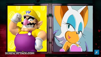 Wario vs Rouge set