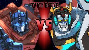 Optimus Prime vs Voltron | Death Battle Fanon Wiki ...