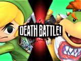 Bowser Jr. vs Link (Hero of Winds)