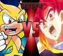 Sonic vs Son Goku