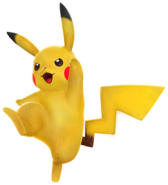 Pikachu Pokkén Tournament
