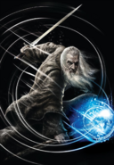 The Lord of The Rings - Gandalf as he appears in Guardians of Middle-Earth