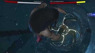 Injustice 2 Power Girl vs Wonder Woman