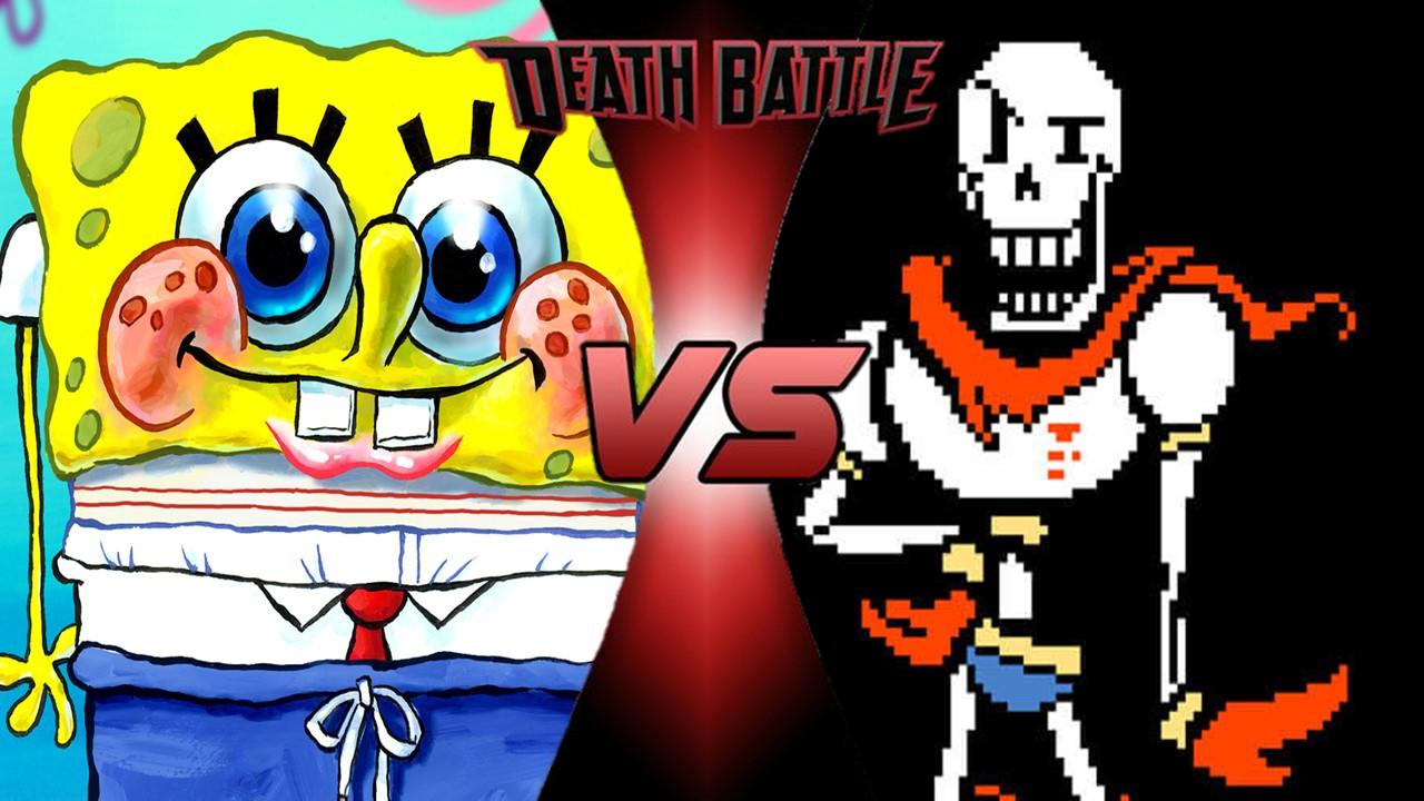 spongebob vs papyrus death battle fanon wiki fandom powered by wikia