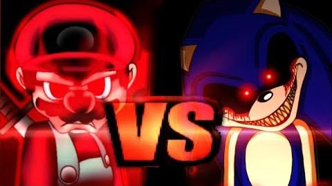 Devil Mario VS Sonic.EXE-0