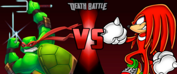Sold raphael 2003 vs knuckles by doctorworm1987-da5em3o